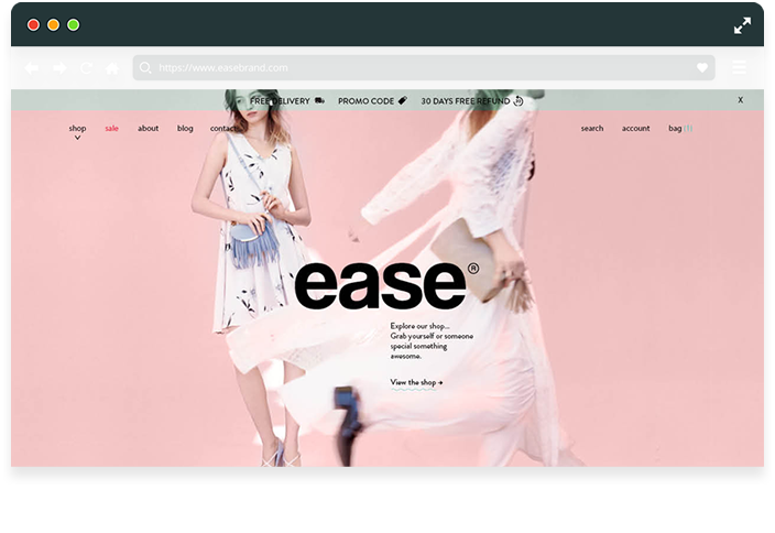 Ease Brand Official Site